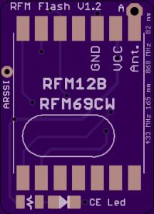 RFM12B-V1.2-SMD-top