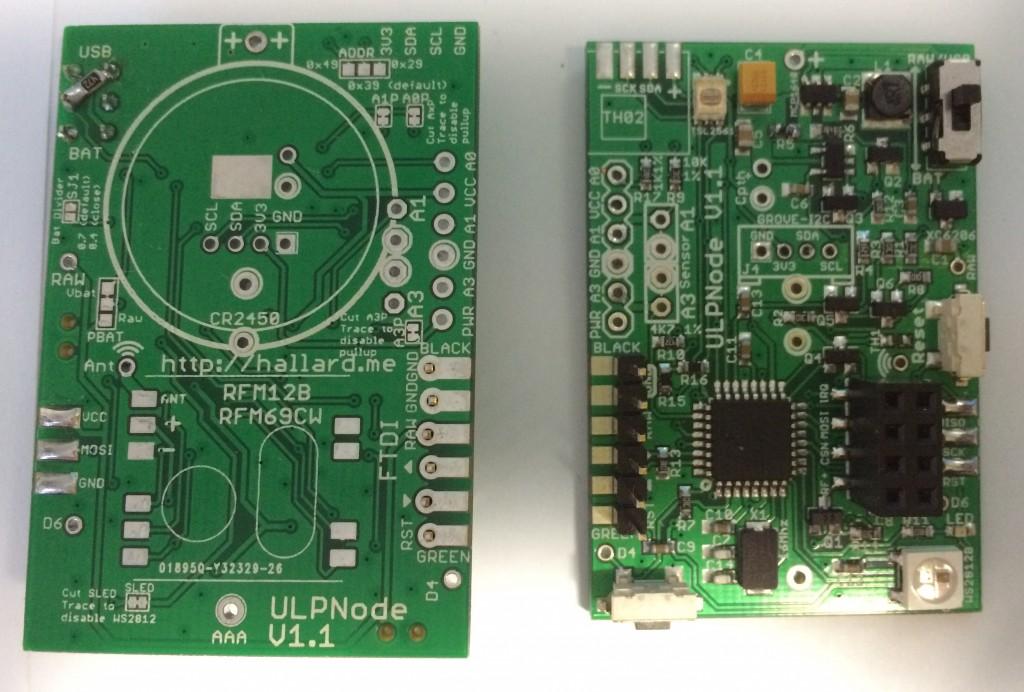 ULPNode 1st Proto PCB