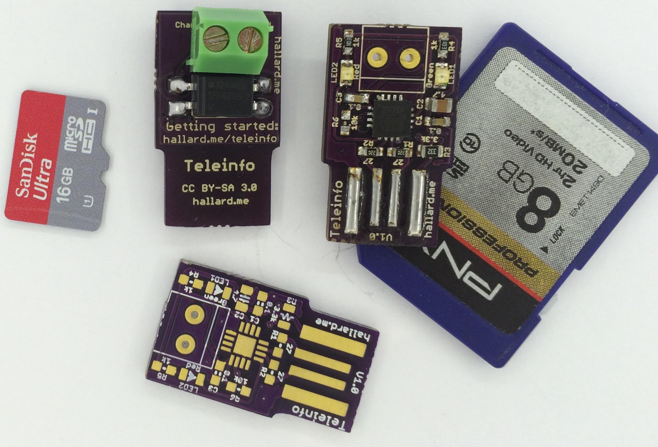 Le stick Téléinfo USB le plus petit