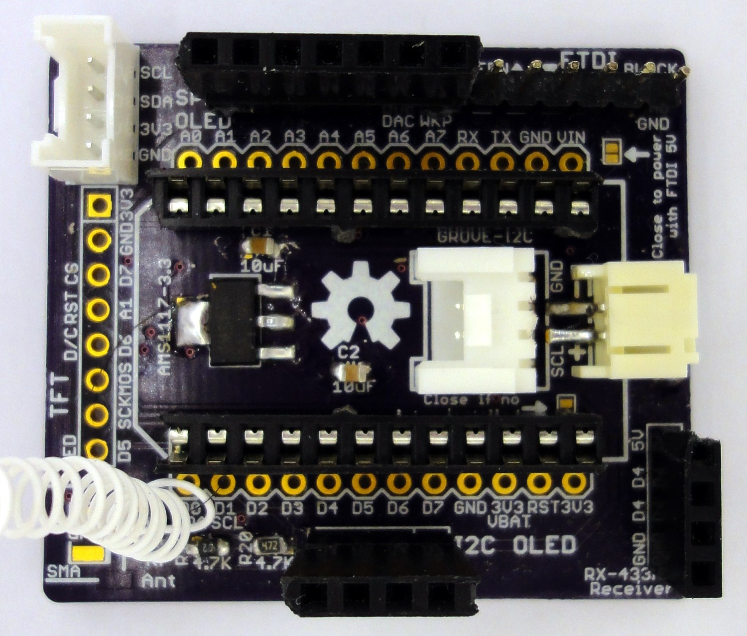 Particle Universal Gateway For Ulpnode And Others Rf Nodes 433mhz Receiver Circuit Esp8266 Copy Assembled