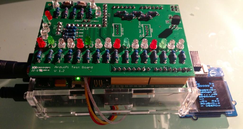 ArduiPi Test Board Full Stack