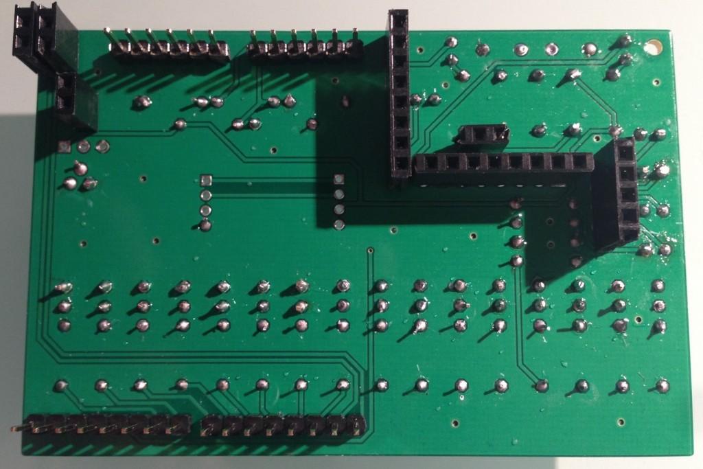 ArduiPi Test Board Back