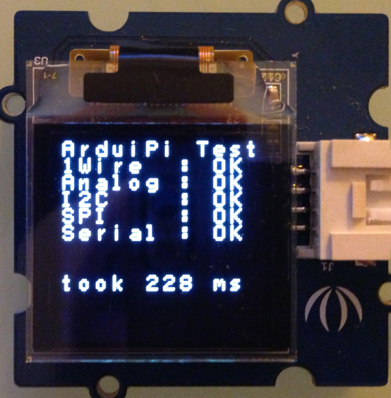 Testing Arduipi Board Charless Blog Wiringpi Library Install Test Ok