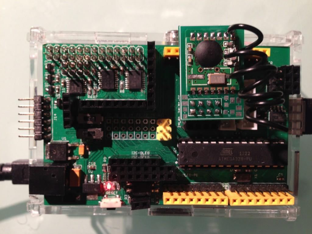 RFM12B breakout board on ArduiPi