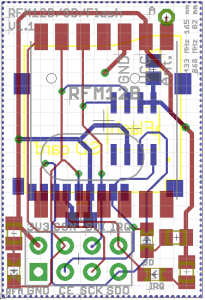 NRF24 to RFM12B/SD board