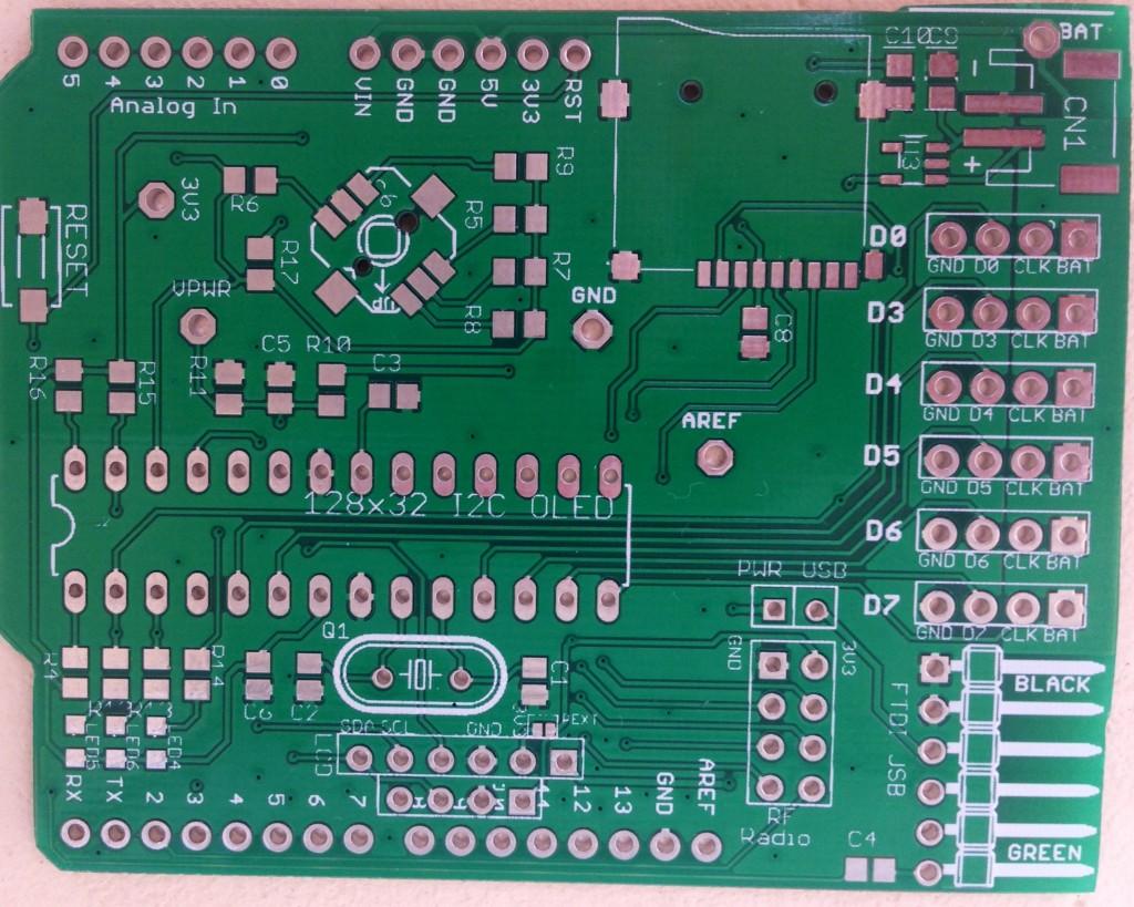 ArduiLED Empty PCB