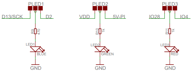 ArduiPi Led Schematic