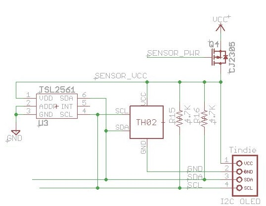 ULPNode Digital Sensors