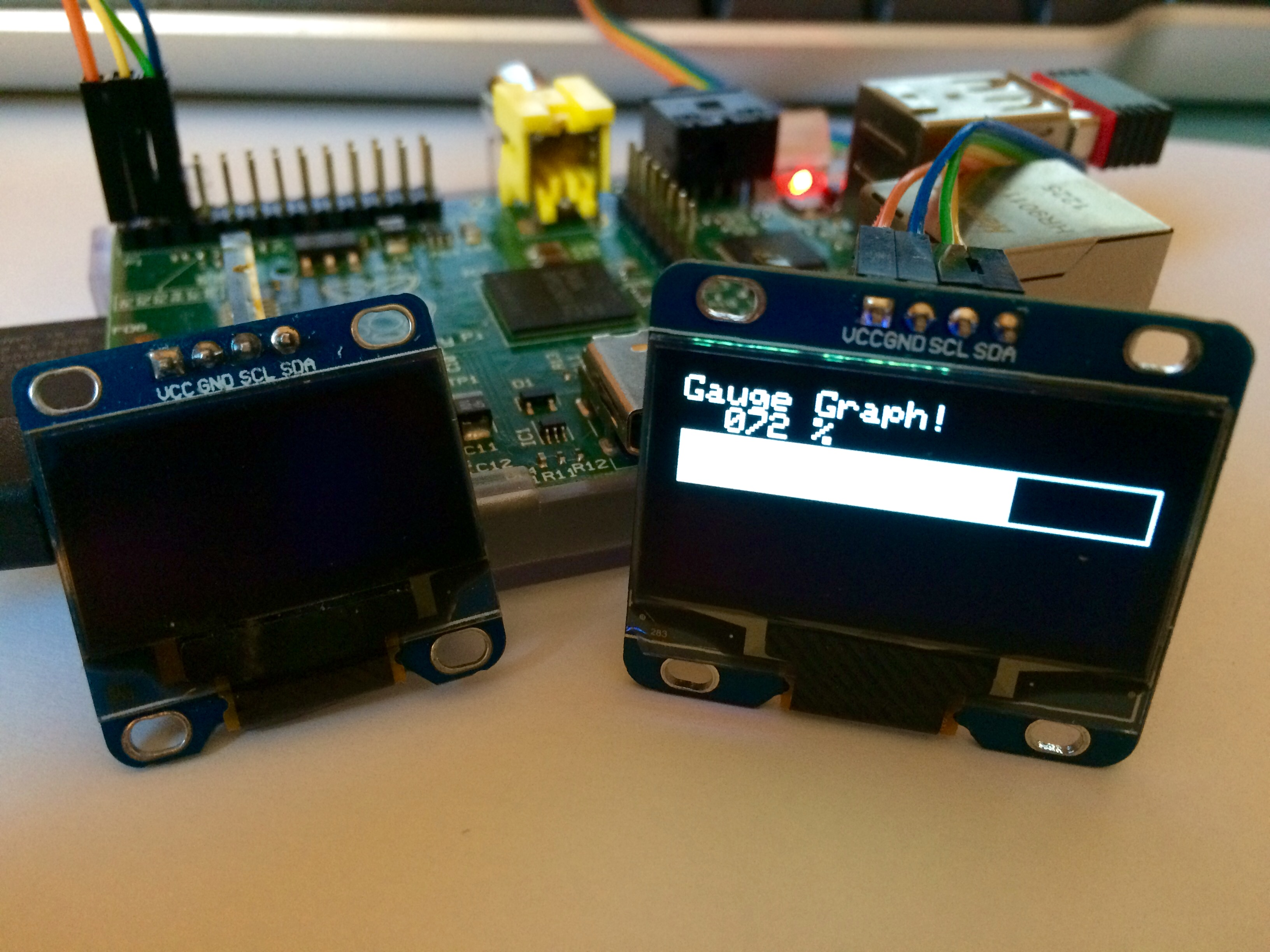 New Adafruit generic OLED display driver for Raspberry PI