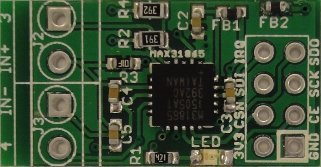 MAX31865 breakout board pinout