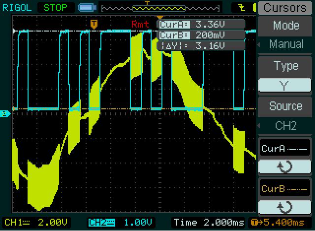 SFH620 R1=1K2 R2=10K