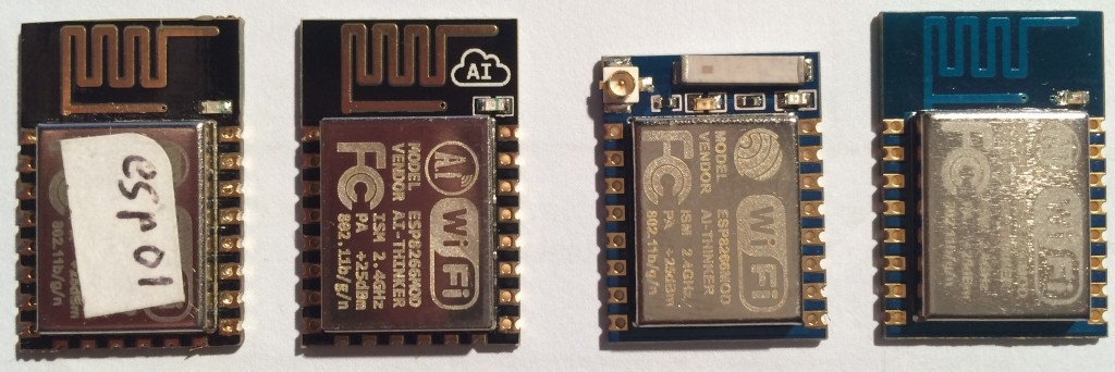 different WifInfo Modules