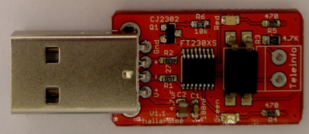 Micro Teleinfo V1.1 top